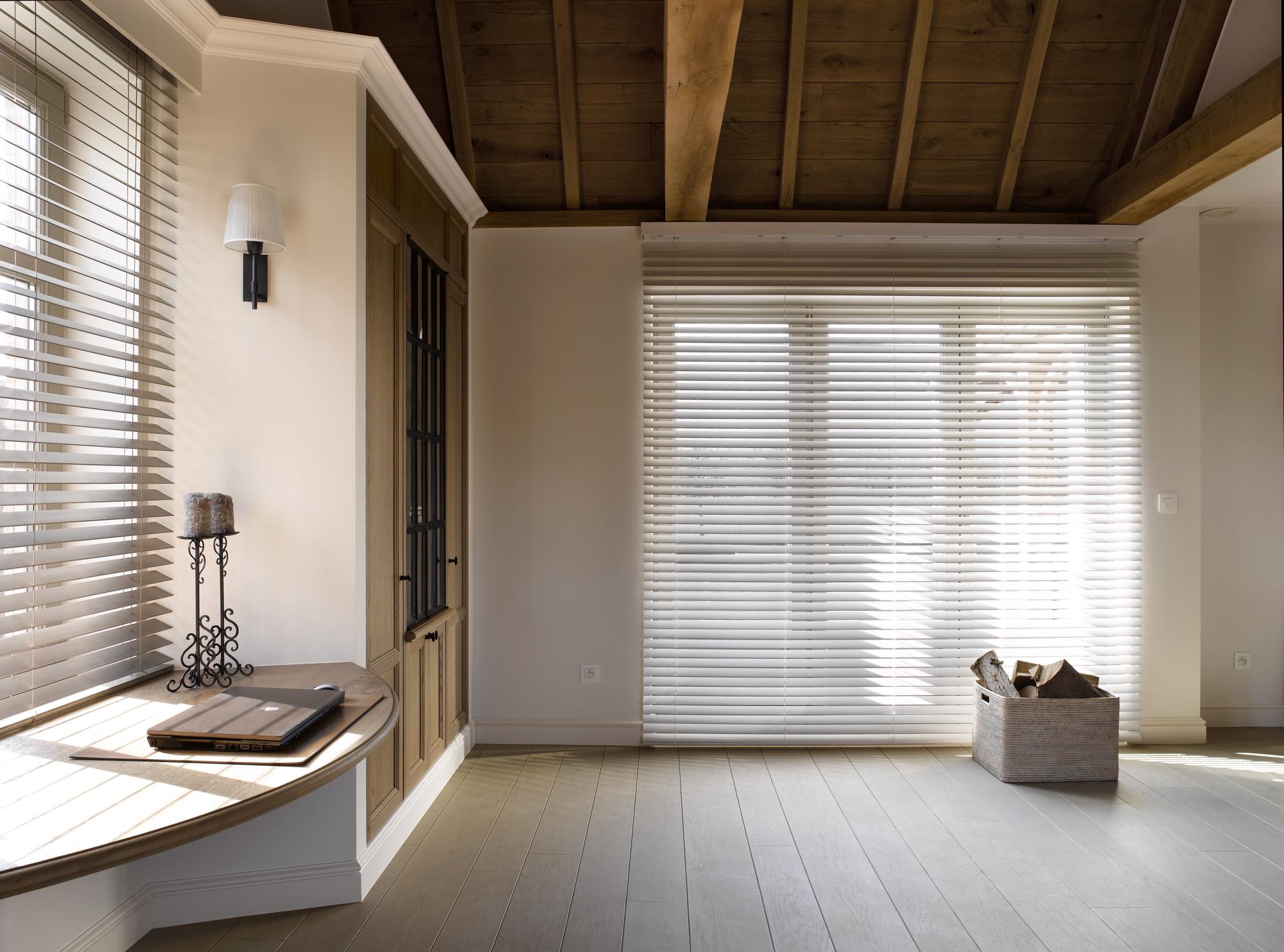 Sfeer en privacy met raambekleding door interieur bogaert